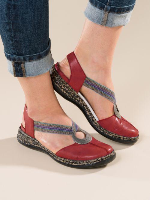 f8a3878be Когда-то «антистрессовая» обувь была представлена у «Рикер» лишь одной  коллекцией. Однако со временем владельцы фирмы сделали технологию  Antistress основной ...